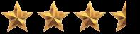 3 estrellas y media