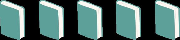 cinco libros